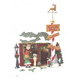 L´atelier du Père Noël en résine