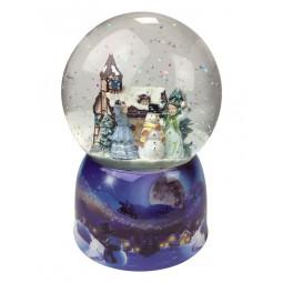 Boule de neige partie petite bataille de boules de neige