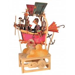 "Kit d'assemblage en bois  ""Machine infernale Junk Air"""