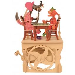 """Kit d'assemblage en bois """"Le petit chaperon rouge"""""""