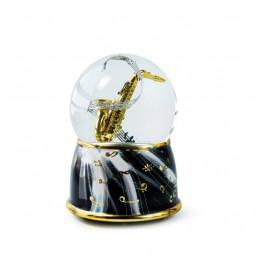 Boule musicale saxophone