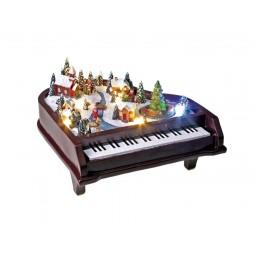 Animated piano