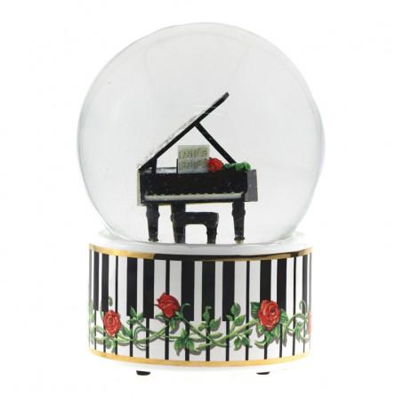 """Glitter globe """"Grand Piano"""""""