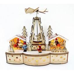 Marché de Noël en bois