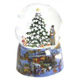 Snow Globe Christmas tree