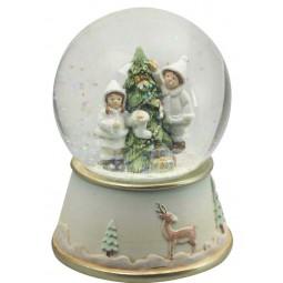 Boule décoration du sapin de Noël