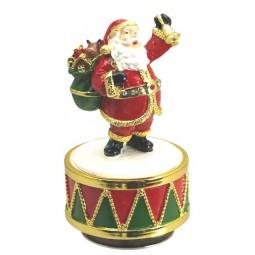 Père Noël en bois