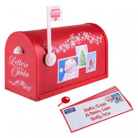 Boîte à musique Boîte aux lettres du Père Noël