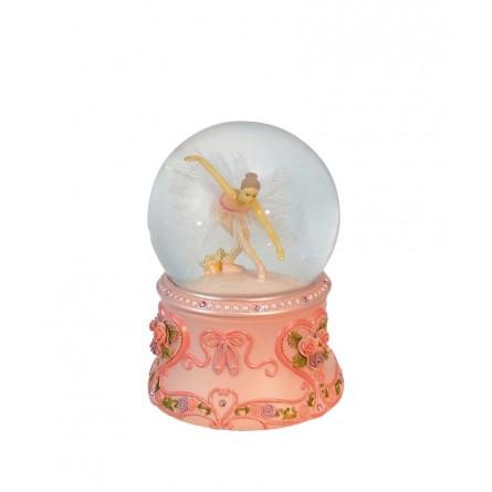 Glitter globe ballerina