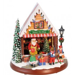 Magasin de jouets Santa's Toy Shop