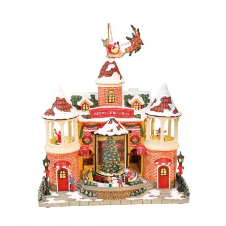 """Musicbox """"House with a little towers"""