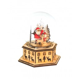 "Globe ""Santa in the forest"""