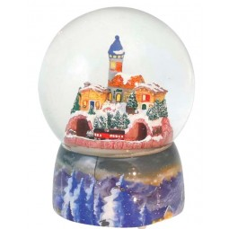 "Snowglobe ""Train"""