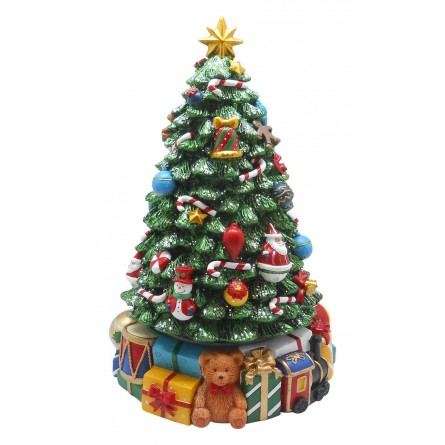 """Large christmas-tree with presents"""