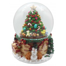 "Snowglobe ""Christmas tree scene"""