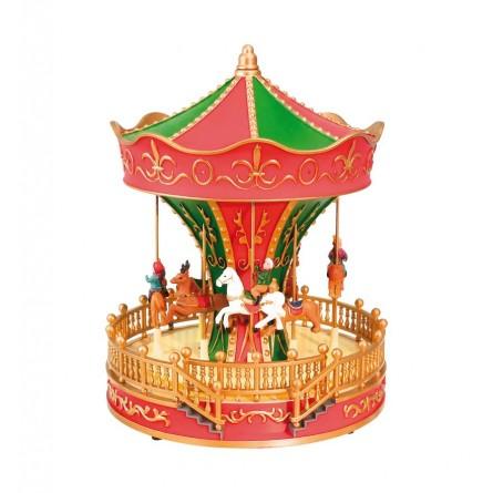 """Merry-go-round in plastic"""