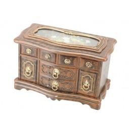 Commode bijoux design bois