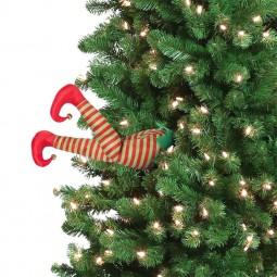 Décoration de l'arbre de Noël animé - elfe