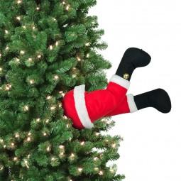 Décoration de l'arbre de Noël animé - Père Noël