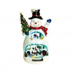 Boîte à musique bonhomme de neige