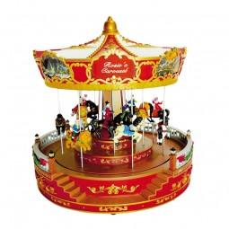 Manège musical nostalgique « Rosie's Carousel ».