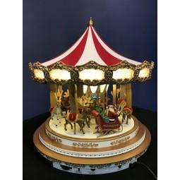 White Oversize Carousel