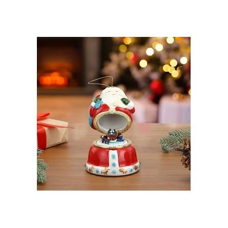 Porcelain Music Box – Santa