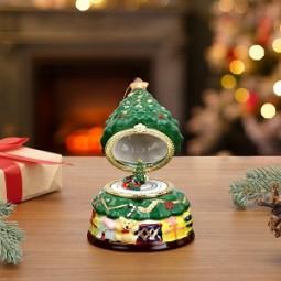 Porcelaine sapin de Noël