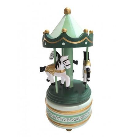 Wooden Carousel green