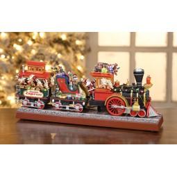 Train express du Père Noël