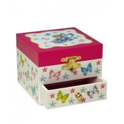 Boîte à bijoux papillons