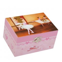 Boîte à bijoux ballerines