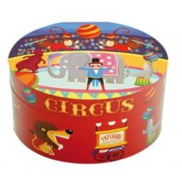 Boîte à bijoux motif cirque