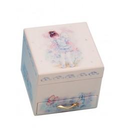 Boîte à bijoux avec tiroir