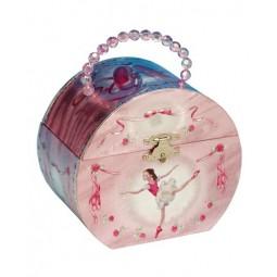 Coffret à bijoux en forme de sac avec motif ballerine