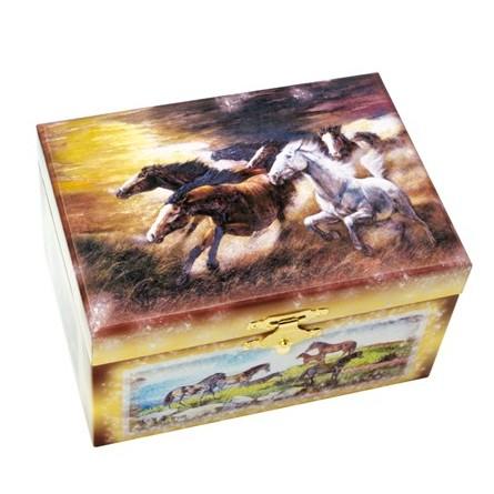 Boîte à trésors chevaux