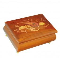 Boîte à bijoux classique instruments