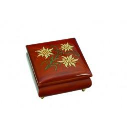 Boîte à bijoux carré Edelweiss