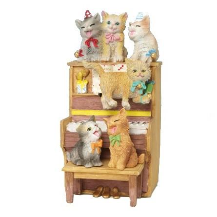 Piano avec chat