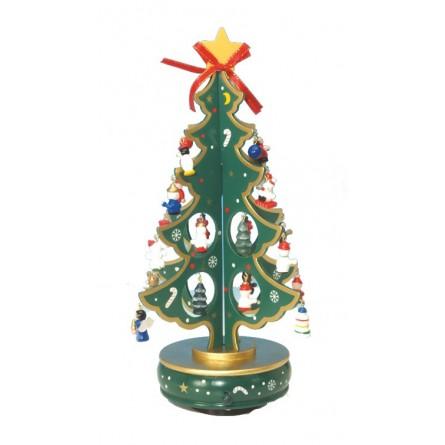 Sapin de Noël vert 330 mm