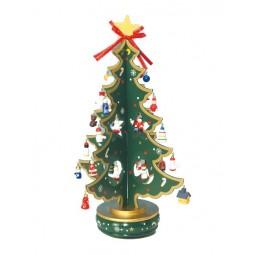 Sapin de Noël vert 380 mm