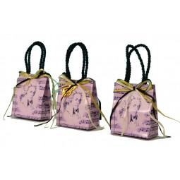 """Présentoir """"Mozart"""" avec 12 sacs"""