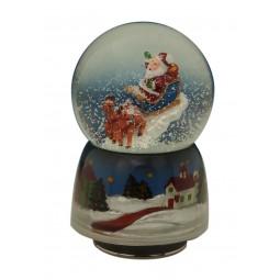 Boule de neige Père Noël II 80 mm