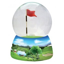 Boule musicale golf