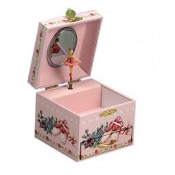 """Boîte à bijoux """"chaussons de danse"""""""