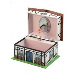 Boîte à bijoux maison montagnarde