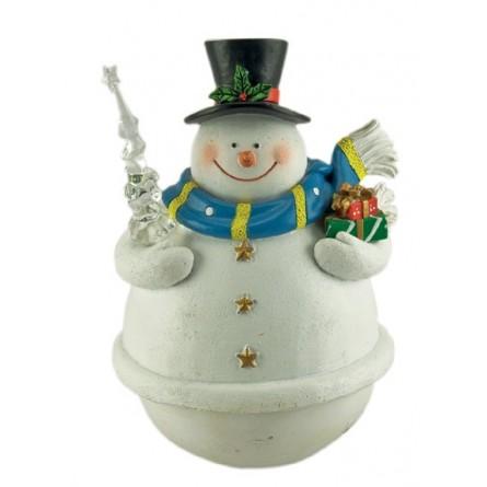 Poussah bonhomme de neige