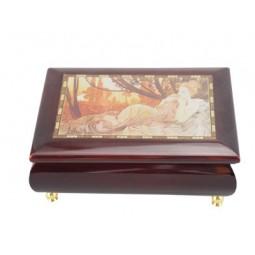 Boîte à bijoux dessin romantique