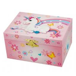 Boîte à bijoux motif licorne
