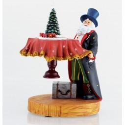 Père Noël magicien